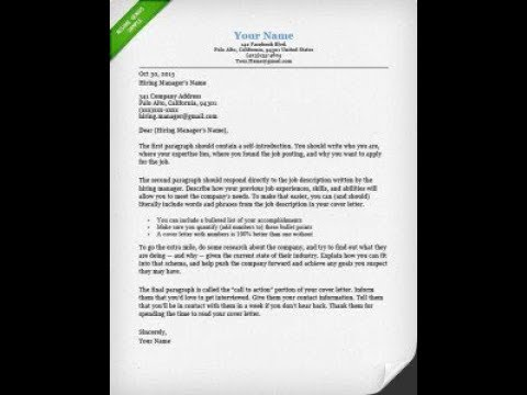 Do I Need To Use A Cover Letter?  Letter Cover