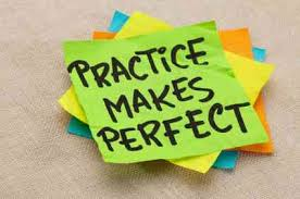 The effect of practice