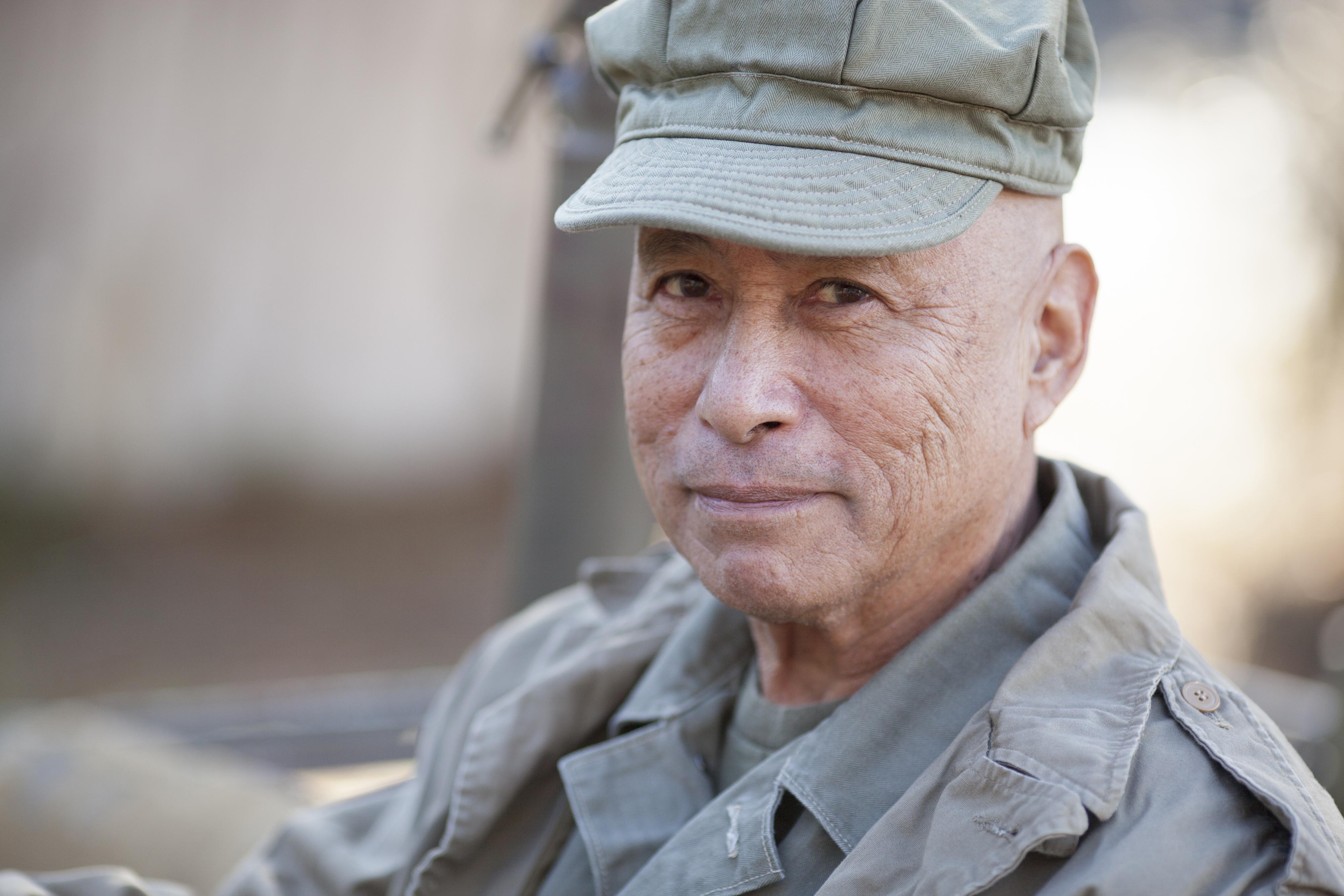 veteran in uniform